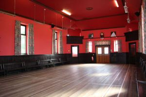 Inside the Rannes Hall